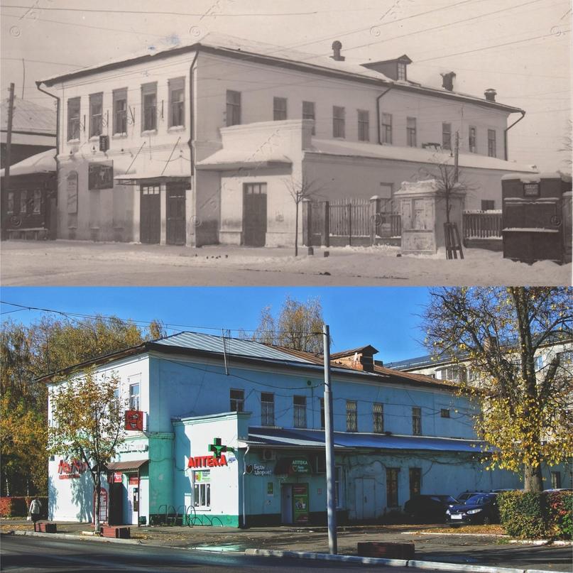 Кинотеатр «Унион» («Луч») 1942 г. / 2020 г.