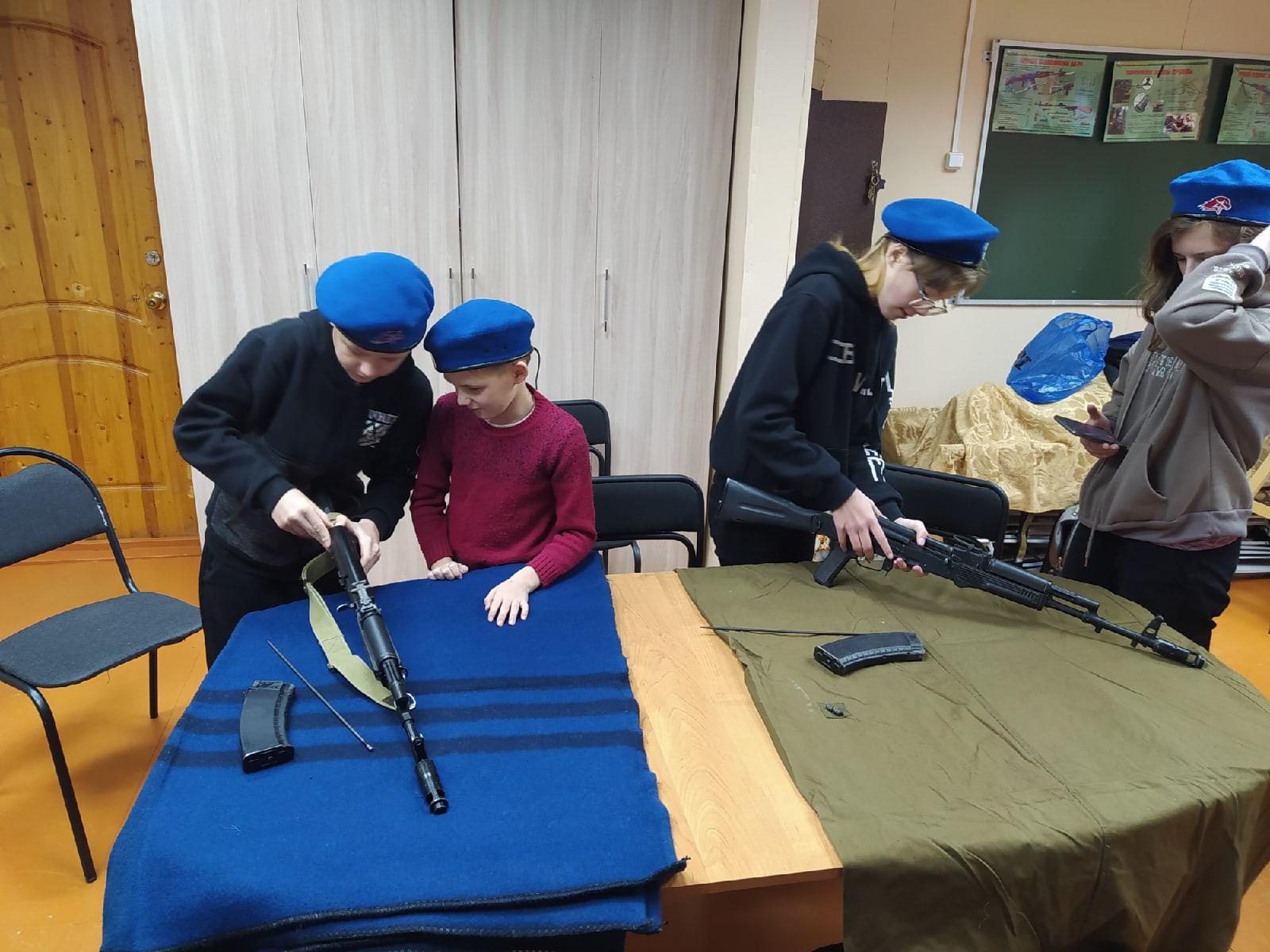 Юнармейцы Коношского района приняли участие в соревнованиях