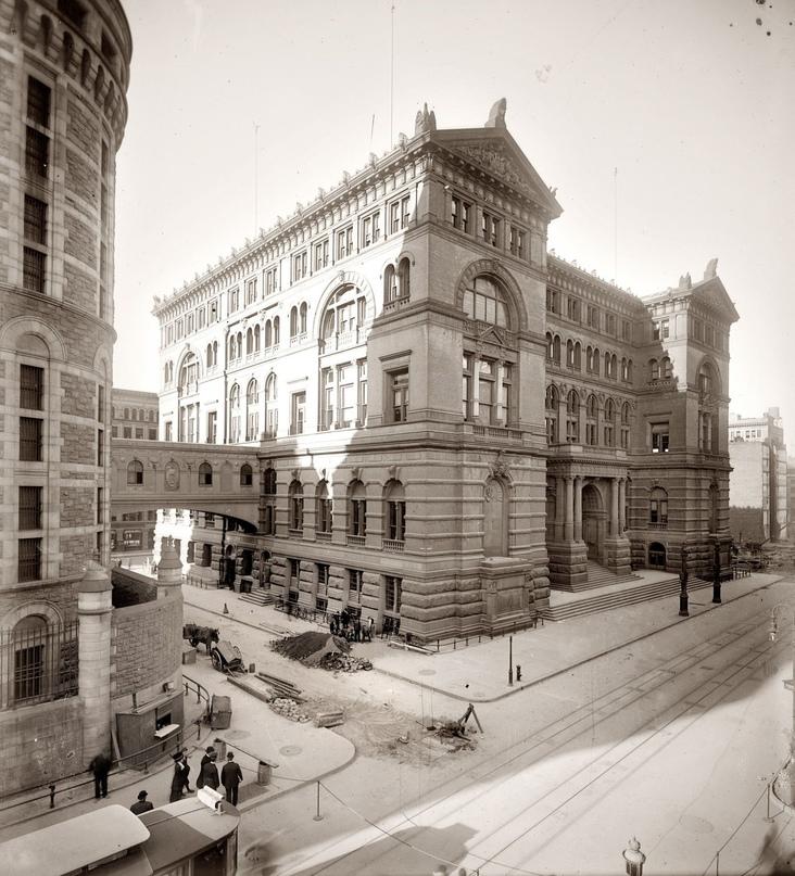 HD-фотографии городов США сделанные в 1900-1915 годах, изображение №25