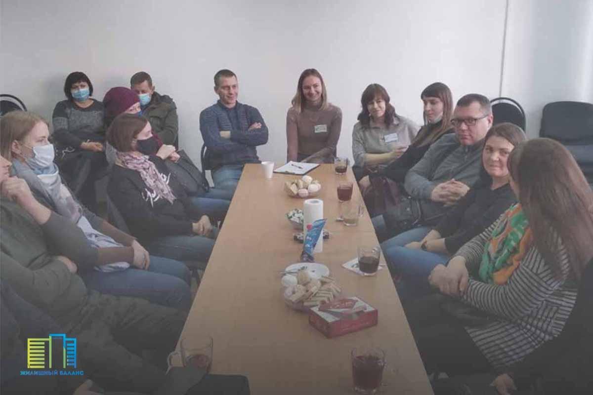Фото с предыдущей открытой встречи в Витебске