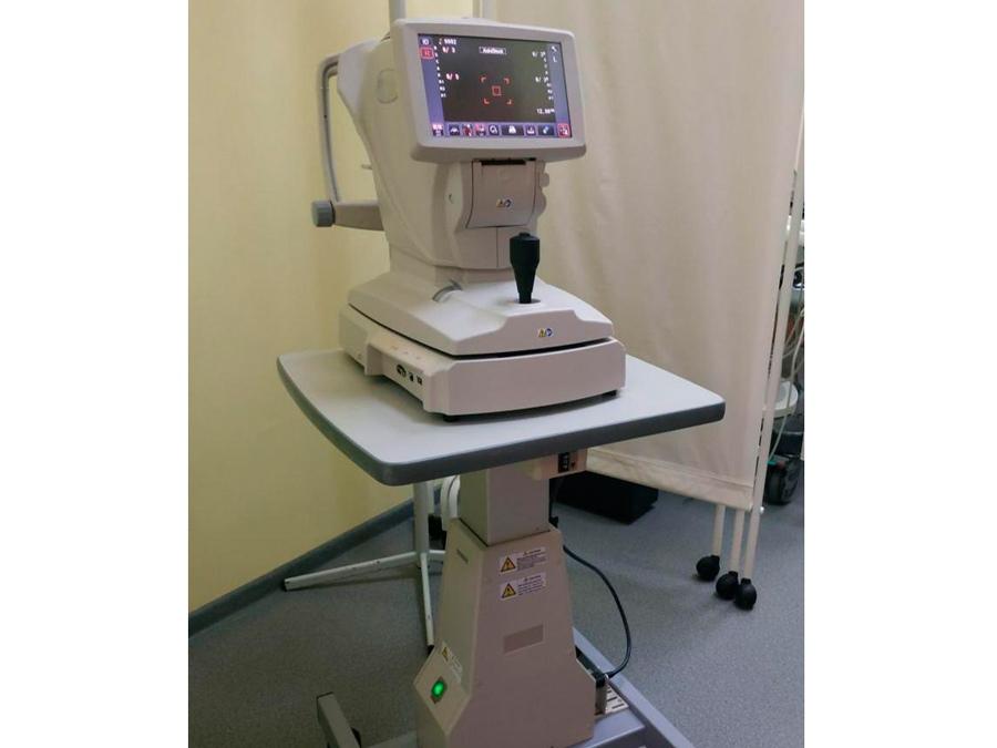 Автоматический кераторефрактометр поступил в детскую поликлинику Дубненской больницы