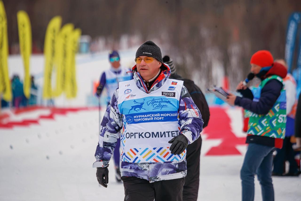Директор марафона Праздника Севера Владимир Валентинович Богданов