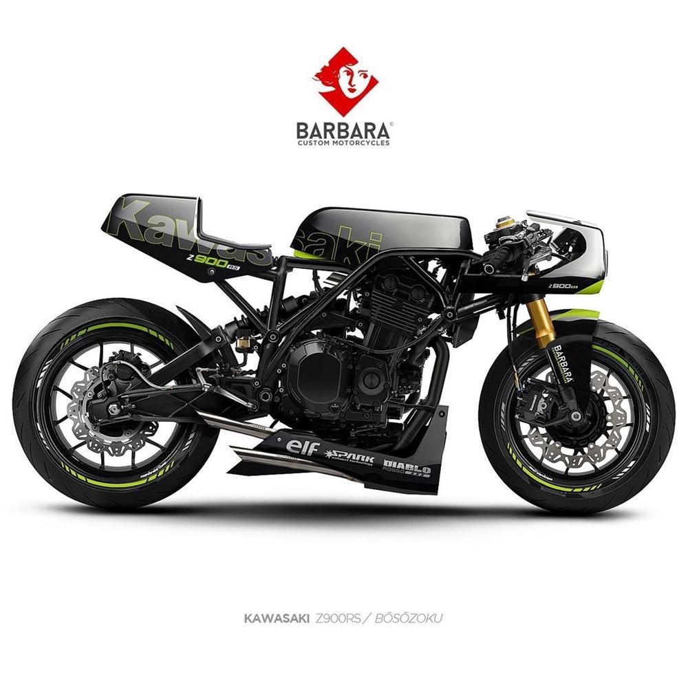 Barbara Custom Motorcycles: концепт Triumph Trident 660