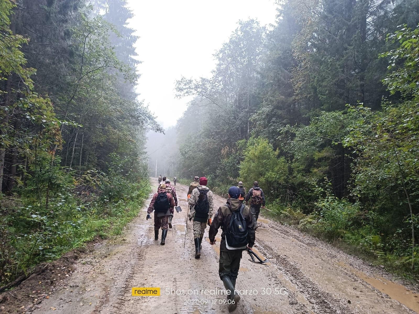Поисковики подняли останки 14 бойцов в Ленинградской