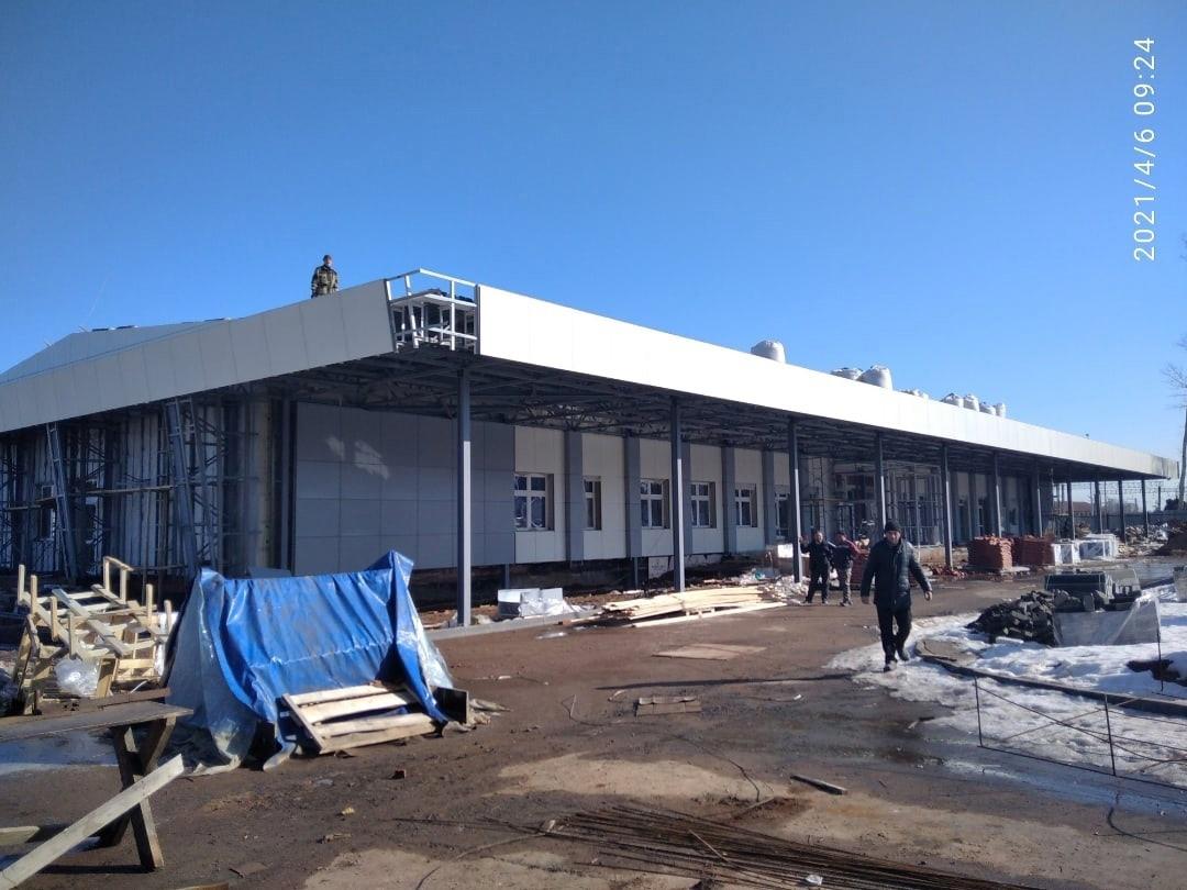 Так сейчас выглядит новый вокзал в Можге