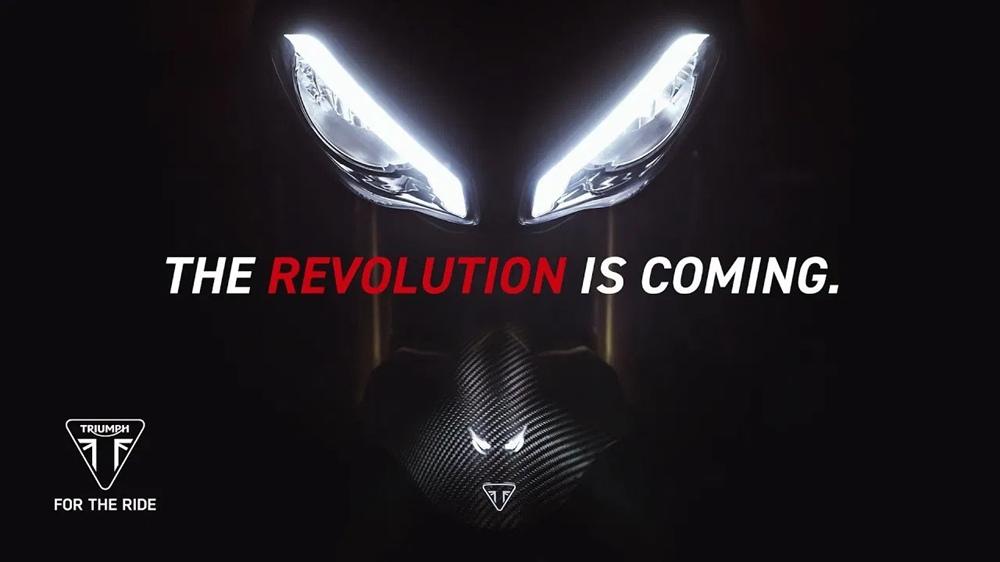Тизер нового мотоцикла Triumph Speed Triple 1200RS 2021