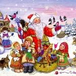 Дед Мороз — красный нос! — веселые новогодние считалки для детей