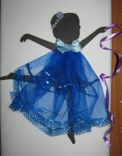 """как сделать панно с балериной своими руками, панно """"Балерина"""" пошаговый мастер-класс,"""