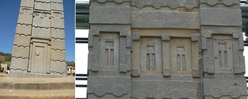 Обелиски Аксума: макеты городских небоскребов созданные в 4 веке нашей эры, изображение №16