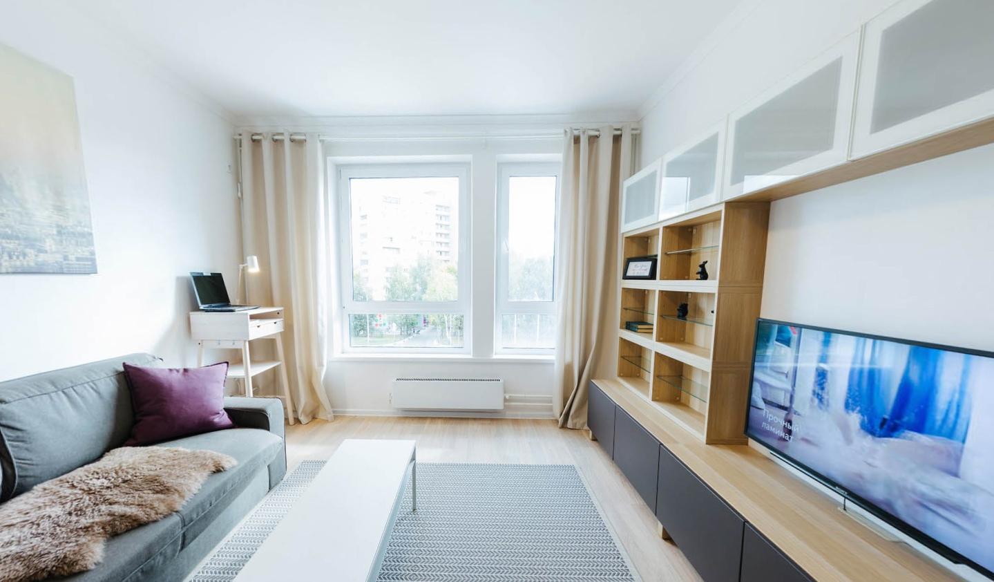 Квартира-студия (шоу-рум) 34 кв.