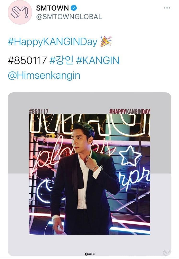Официальный аккаунт SM поздравил Каннина с юбилеем