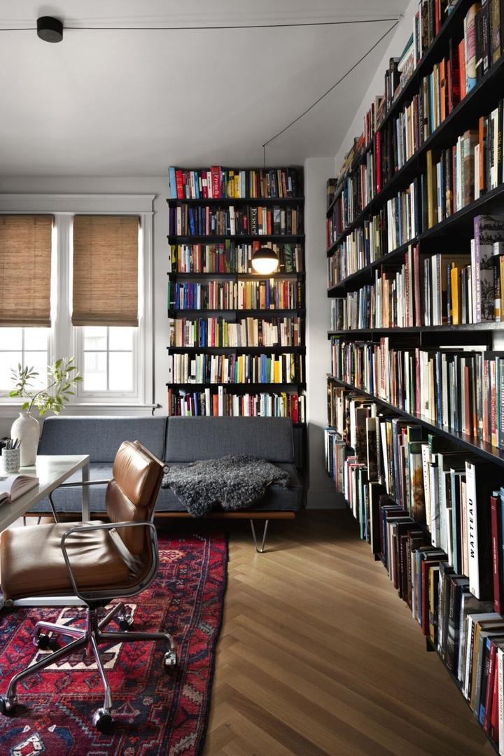 Квартира для творческой семьи в Вашингтоне / Practice for Art and Architecture