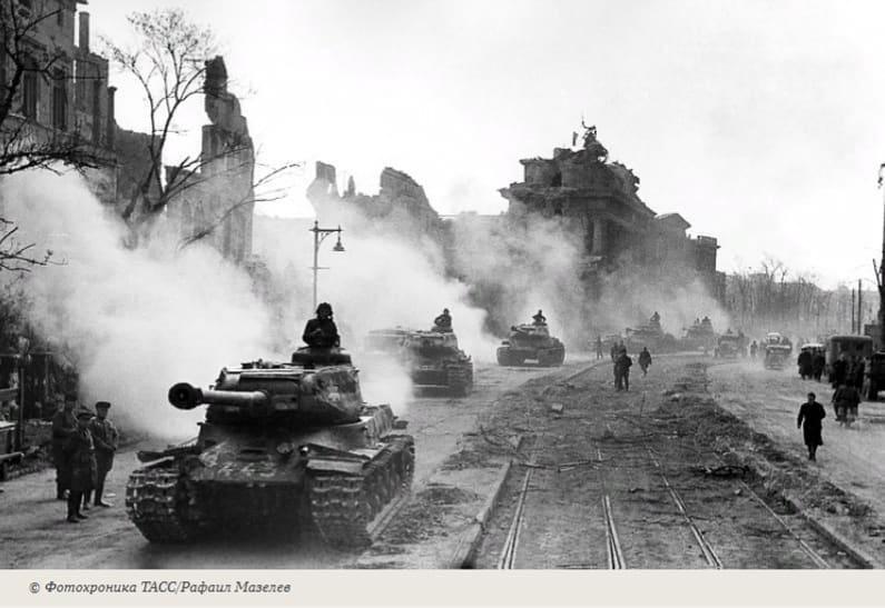 В этот день 76 лет назад, 25 апреля 1945 года, Красная Армия окружила Берлин