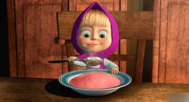 Masha and The Bear - Reciepe for disaster