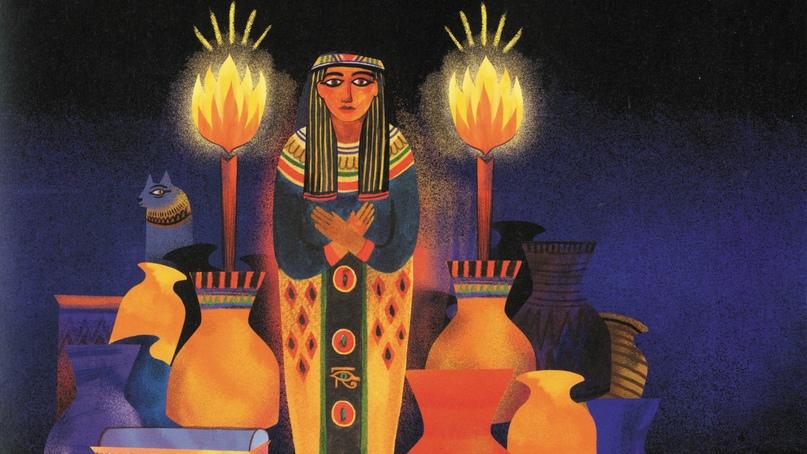 Интерактивное занятие «Переполох в Египте»