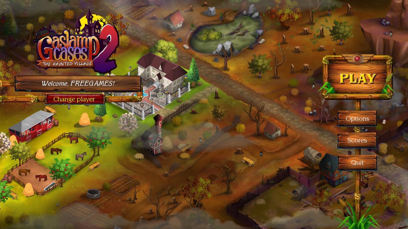 Gaslamp Cases 2: The Haunted Village (En)