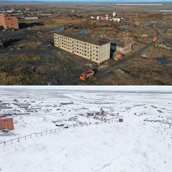 В окрестностях Норильска разобрали 87 ветхих здани...