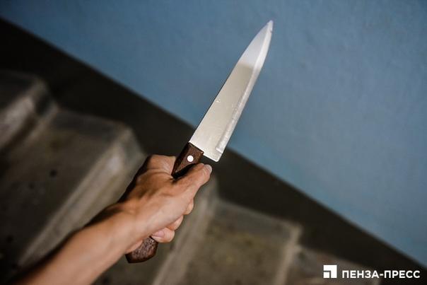 Зареченка ударила ножом укусившего ее сожителя  48...