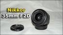 Объектив Nikon Nikkor 35mm F2D