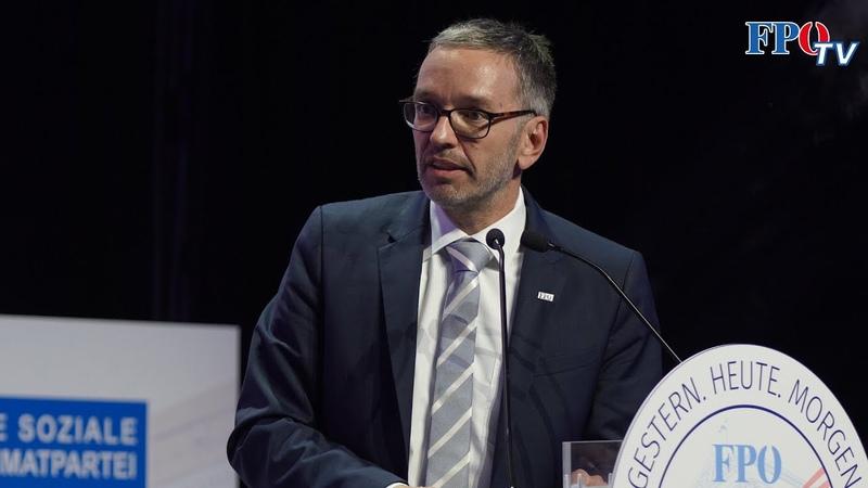 FPÖ Bundesparteitag 2021 Die Rede von Herbert Kickl