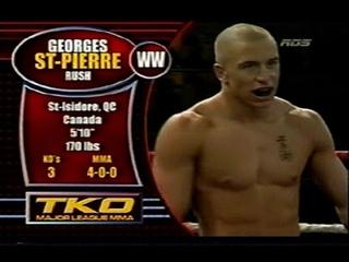 Georges St Pierre vs  Pete Spratt - Road Warriors  - 2003