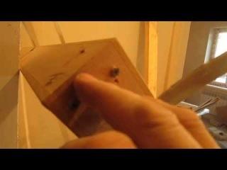 Работа в квартире нового дома ( подготовка установки дверной коробки )
