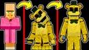 из ЖИТЕЛЯ в ЗОЛОТОГО ФРЕДДИ МАЙНКРАФТ фнаф пять ночей с фредди майнкрафт fnaf minecraft five nights