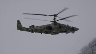 Командирские полеты экипажей штурмовиков Су-25 и вертолетов Ка-52