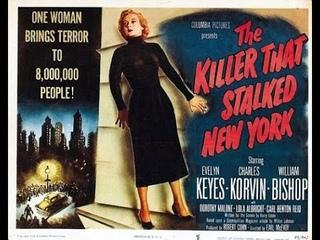 Убийца, запугавший Нью Йорк (1950, США) фильм-нуар, триллер, драма