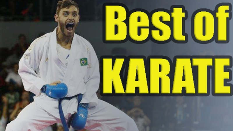 The best techniques of KARATE Kumite WKF