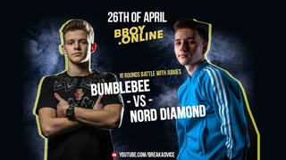 Nord Diamond (Top9) vs Bumblebee (Outstanding) | 10 ROUNDS BATTLE