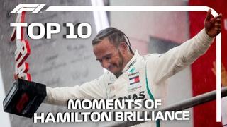 Top 10 Moments of Lewis Hamilton Brilliance