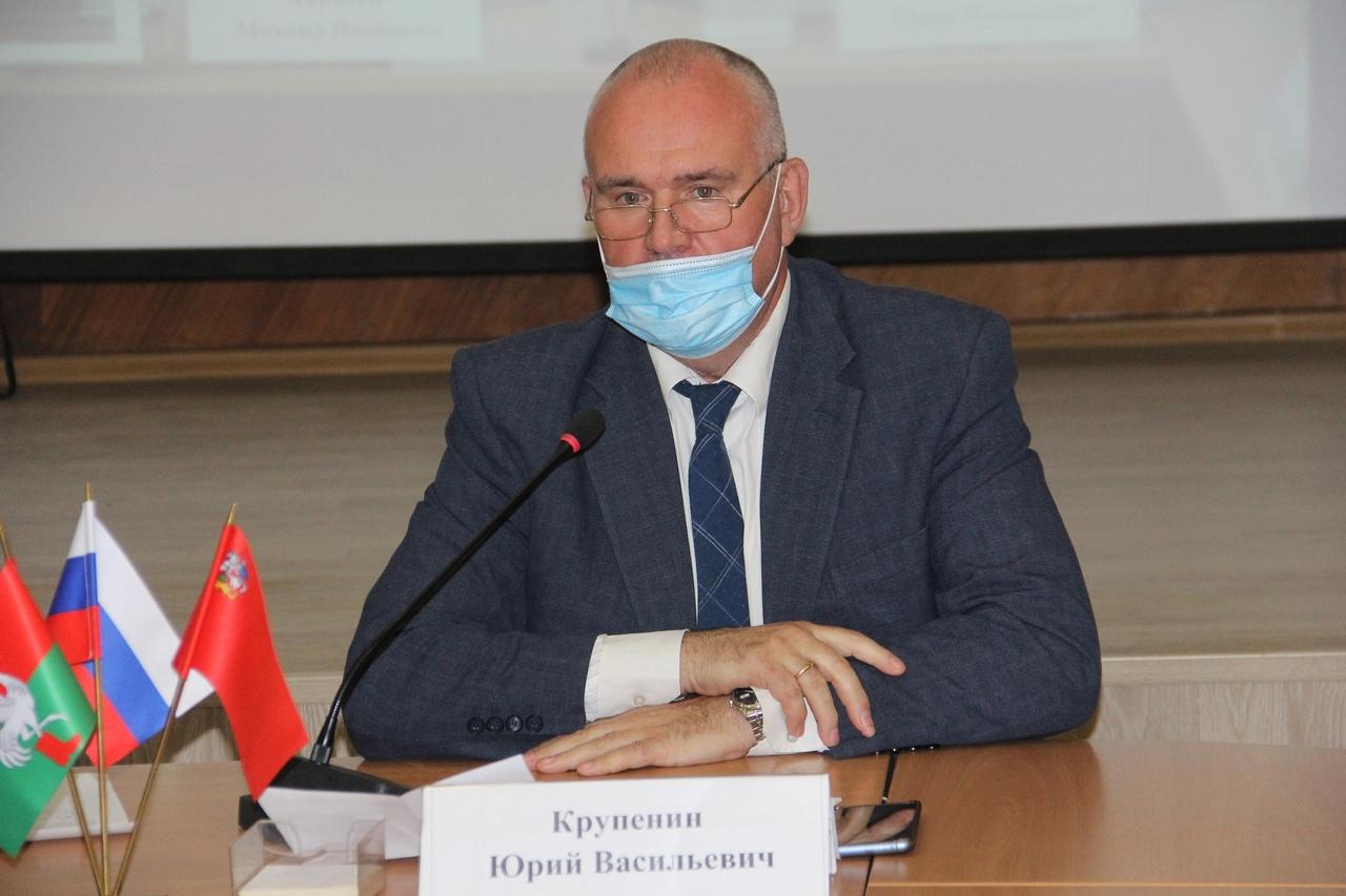 Депутаты единогласно утвердили Юрия Крупенина на пост главы Талдомского городского округа