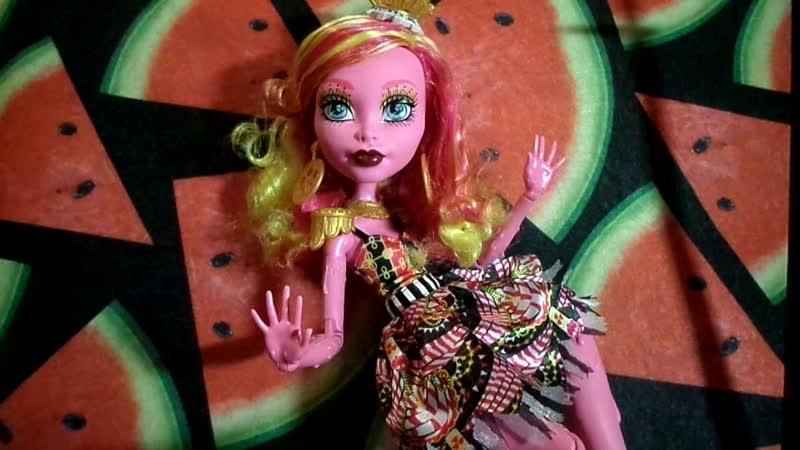 Обзор на Гулиопу Джеллингтон Цирк Шапито*Monster High*Gooliope Jelllington*Freak du Chic