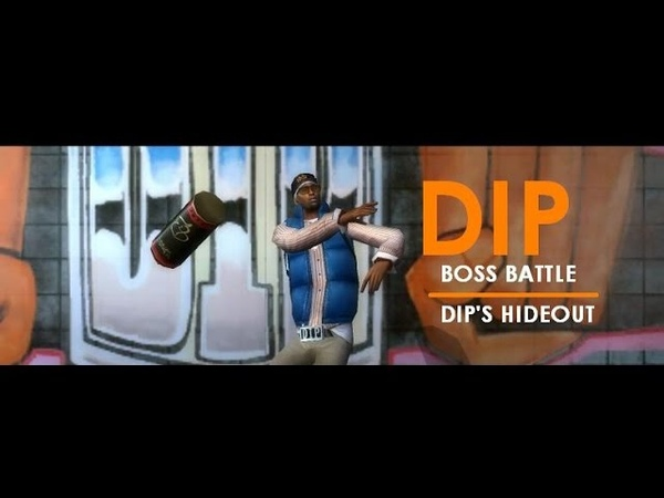 Marc Ecko's GettingUp- Dip's Hideout (Boss Battle)