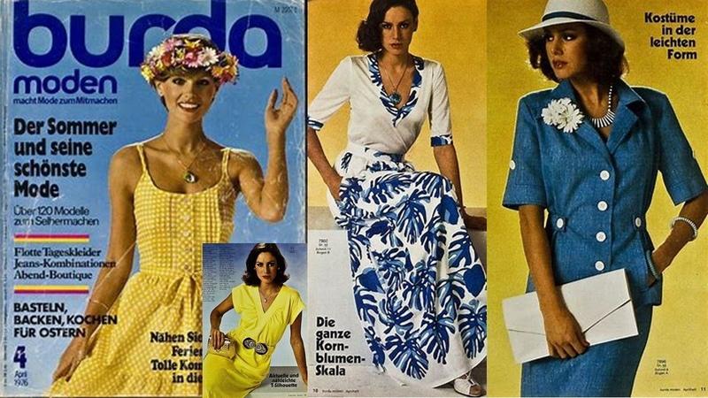 Листаем журнал Burda Moden 06 1974 Модные тенденции весна лето 2020 Летние платья