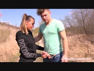 [CzechHitchHickers] Naomi Bennet - loves sex, especially outdoor sex