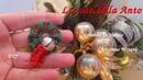 69' TUTORIAL FACILE GHIRLANDA NATALE CHIACCHIERINO AD AGO WREATH CHRISTMAS NEEDLE TATTING FRIVOLITÈ