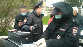 Крымчанин пытался дать 400 долларов взятки сотрудникам ДПС