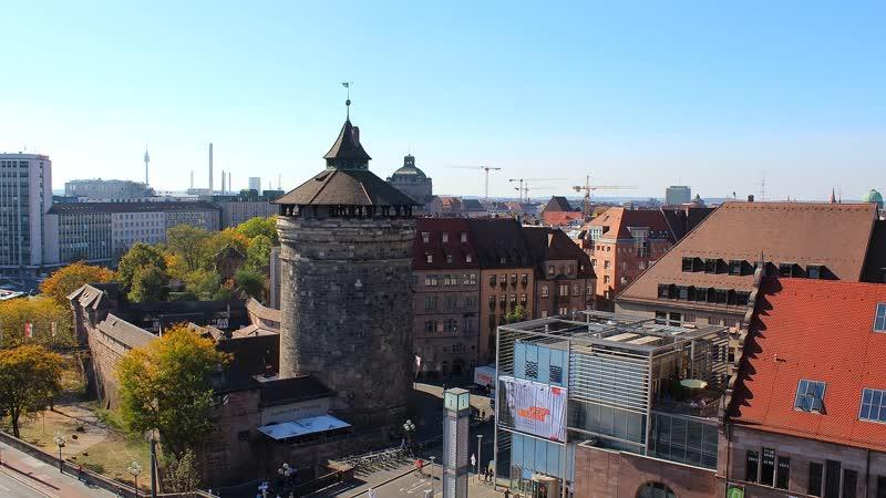 Германия Нюрнберг гранд отель Le Meridien Nürnberg