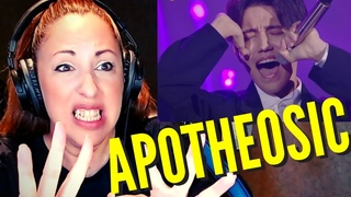 DIMASH | 💥 QUE FINAL!!!! | All by Myself (THE SINGER) | vocal coach Reaction  & Analysis