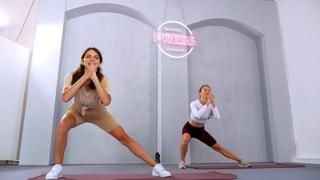 [PRESS: Ягодицы] Жаркая тренировка на прокачка ног и ягодиц