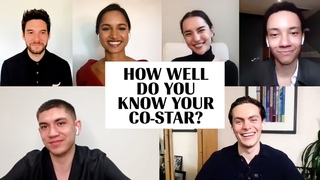 The Cast of 'Shadow and Bone' Plays 'How Well Do You Know Your Co-Star?' | Marie Claire