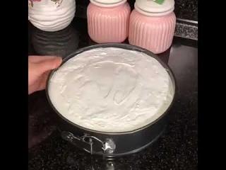"""Нежный торт """"Облако""""  Муссовый торт облако.  Торт облако рецепт."""