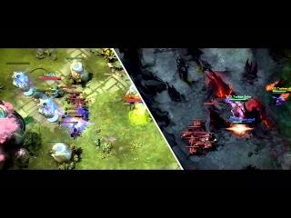 [DotaFX] TI3 - The Epic Play -  - Alliance vs LGD~ BASE RACE!