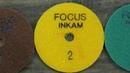 Алмазный гибкий круг для полировки камня АГШК Focus с водой. Работа на Карельском Габбро-диабазе.