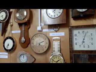 """Новая выставка """"Старинные часы - свидетели и судьи"""""""