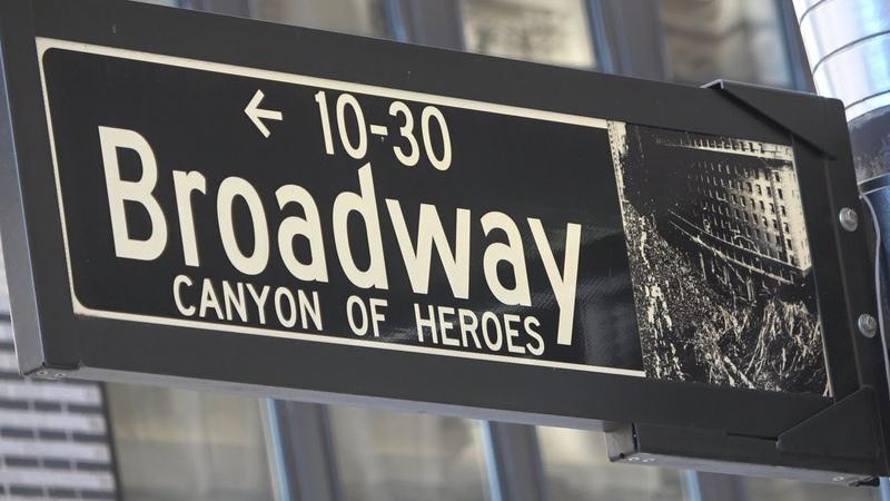 Нью Йорк Экскурсия Поездка по Бродвею через весь Манхэттен