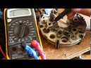 Ремонт генератора ВАЗ 2110. Проверка и замена диодного моста, проверка зарядки аккумулятора.