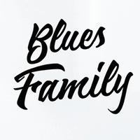 Логотип BLUES FAMILY